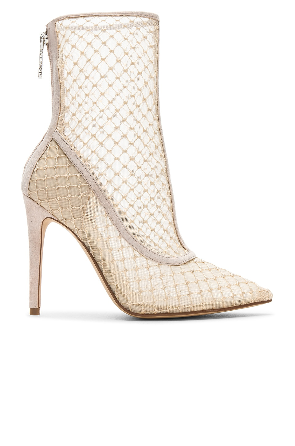 KENDALL + KYLIE Alanna Bootie in Nude & Pale Blush