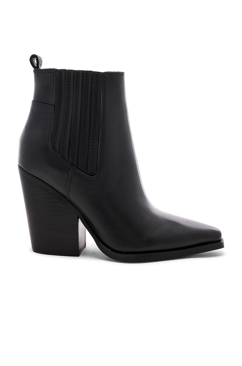 KENDALL + KYLIE Colt Bootie in Black Regal Matte Leather