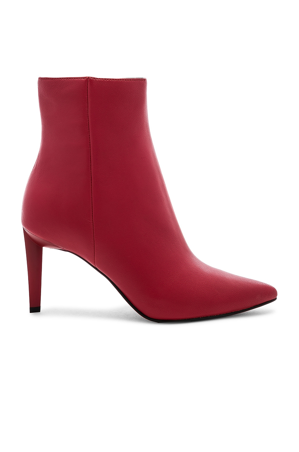 KENDALL + KYLIE Zoe Boot in Candy Red Sheep Leather