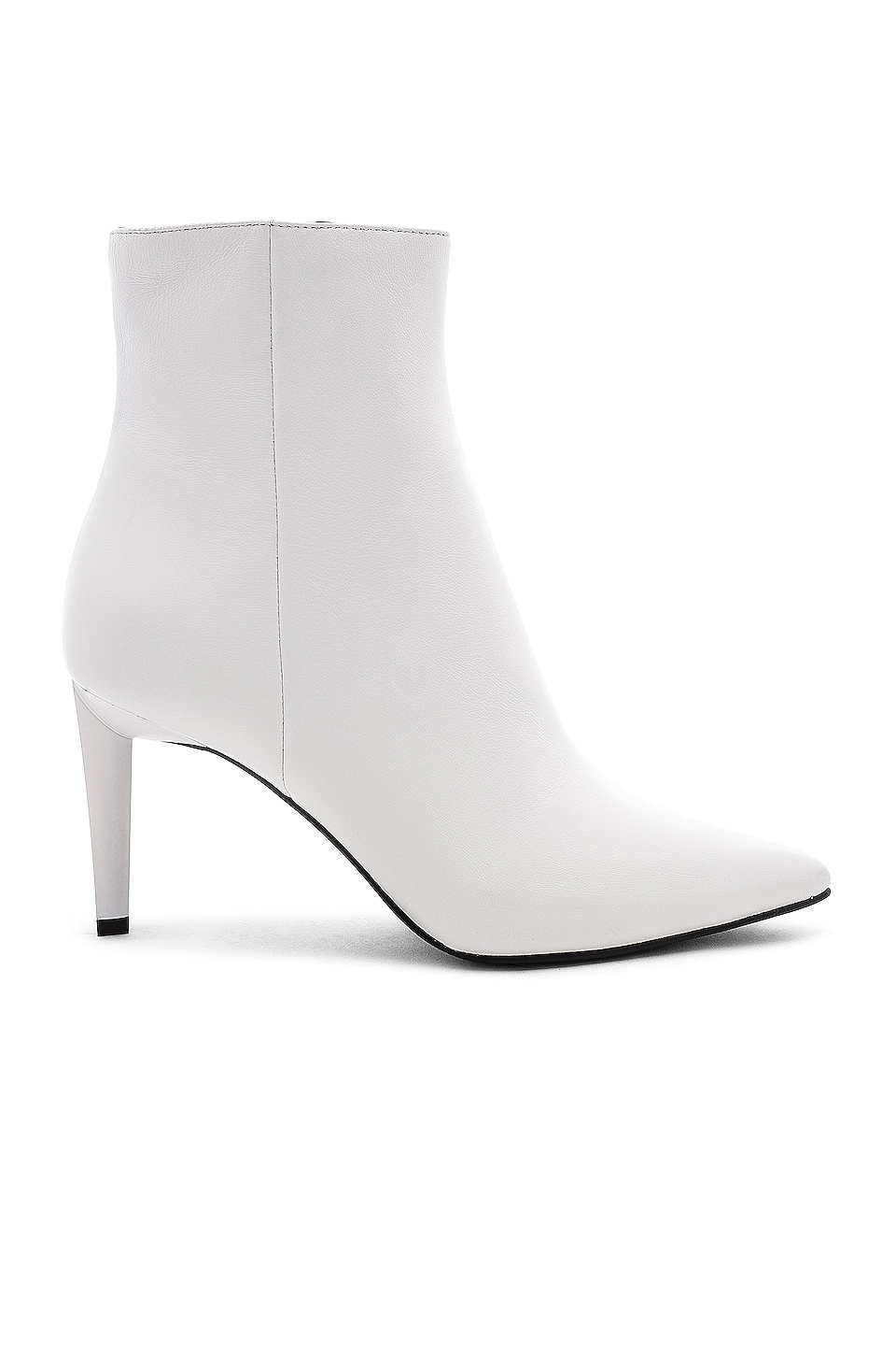KENDALL + KYLIE Zoe Boot in White Sheep Leather