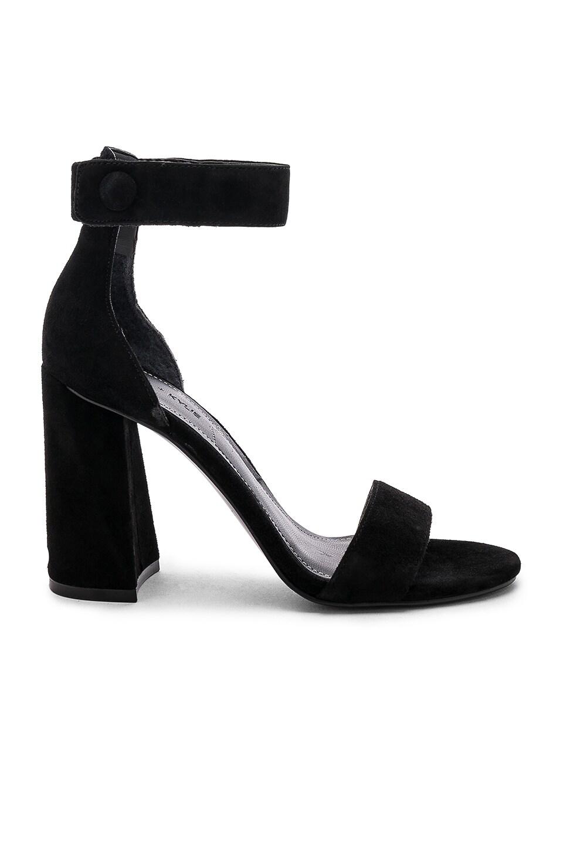 KENDALL + KYLIE Jewel Sandal in Black Suede