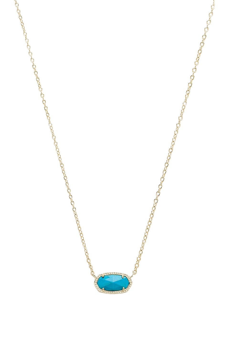 Kendra Scott Elisa Necklace in Turquoise Magnesite