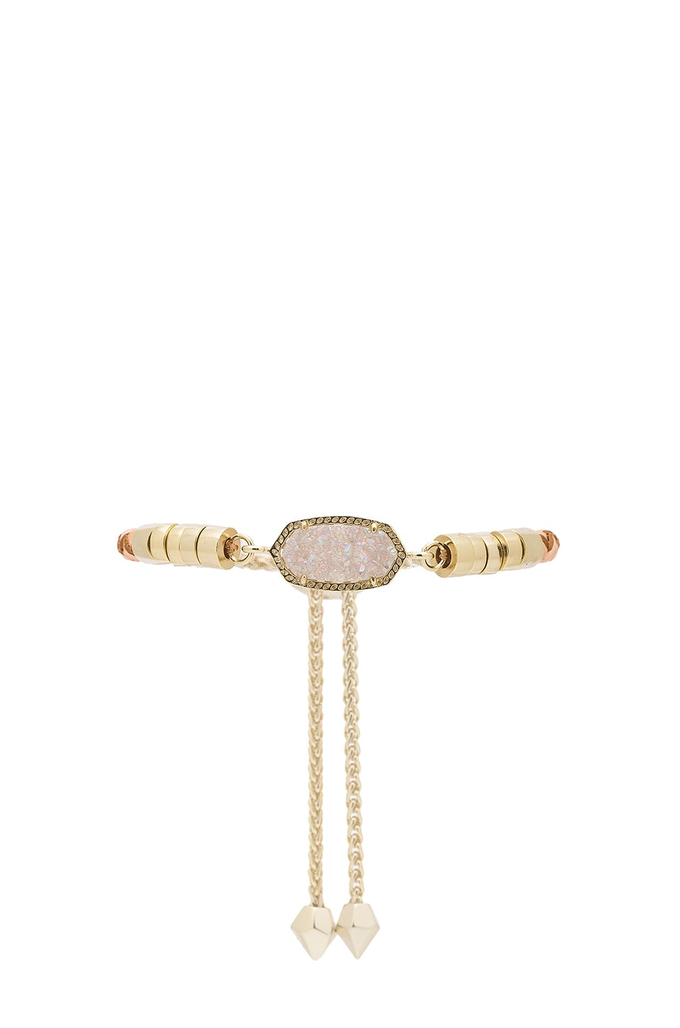 Kendra Scott Cruz Bracelet in Gold & Iridescent Drusy