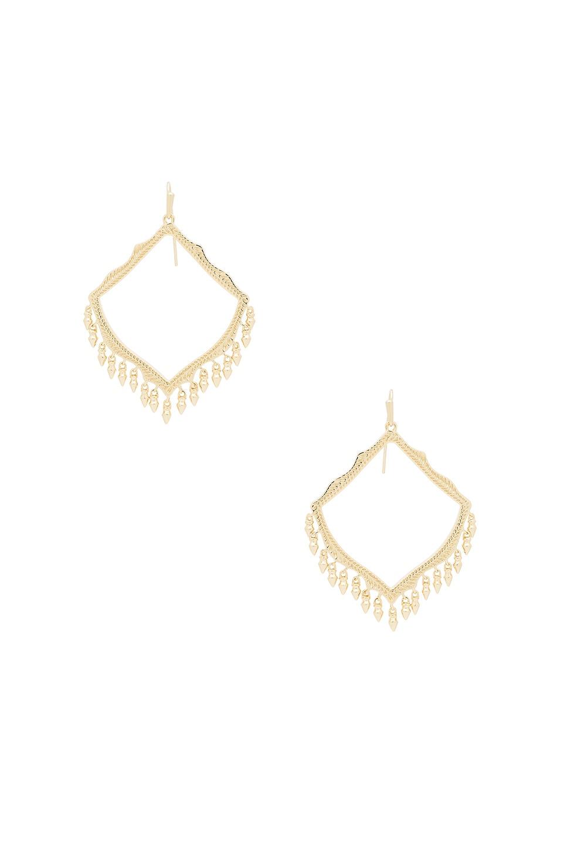 Kendra Scott Lacy Earrings in Gold