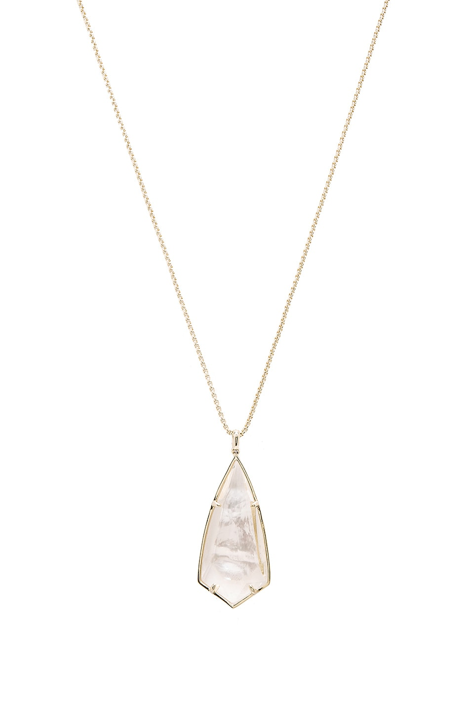 Kendra Scott Carole Necklace in Gold & Ivory Mother Of Pearl