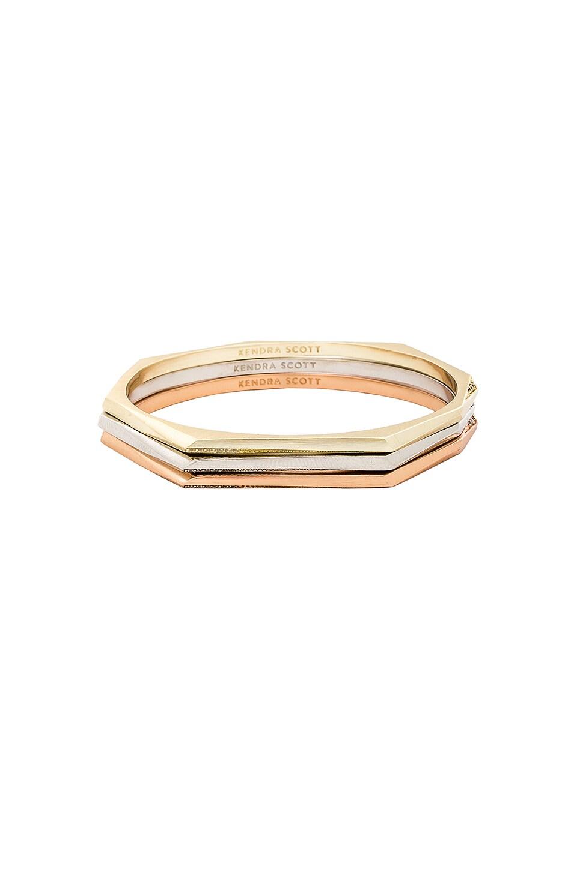 Kendra Scott Aubrey Bracelet in Gold, Rose Gold & Rhodium