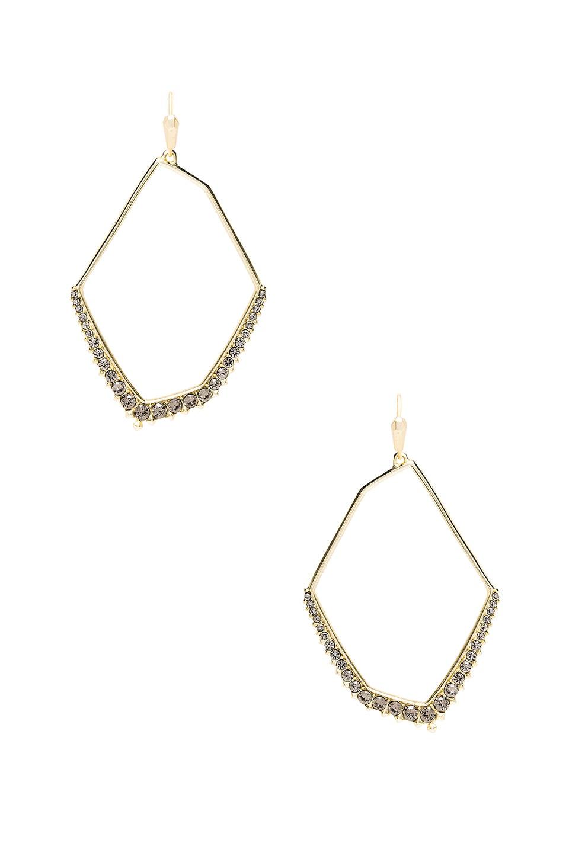 Kendra Scott Nell Earrings in Gold Smoky