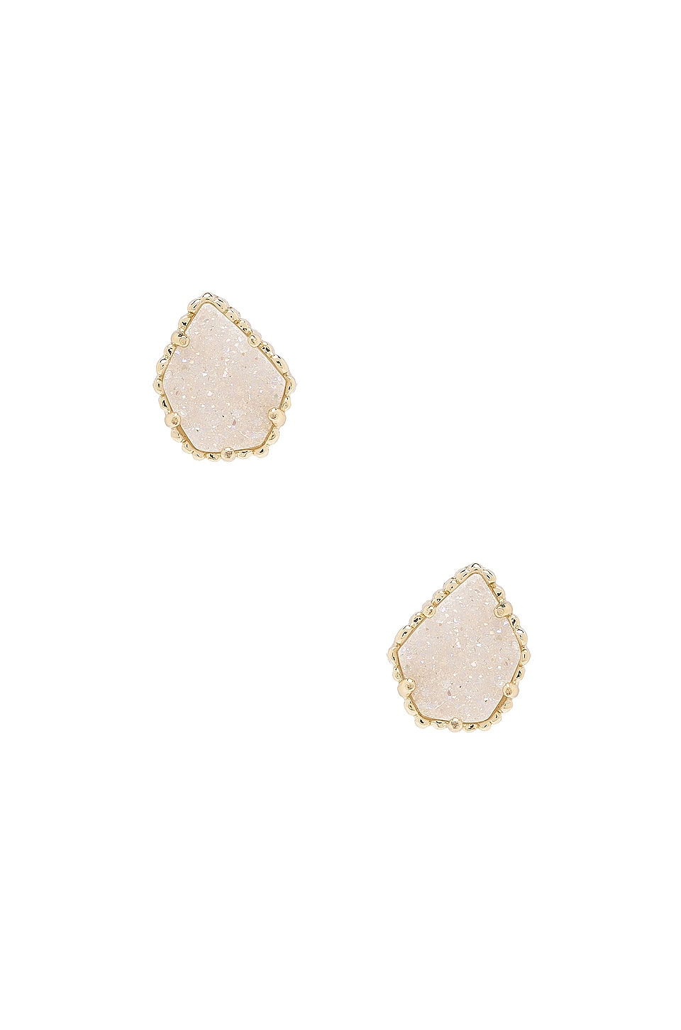 Kendra Scott Tessa Earring in Gold Iridescent & Drusy