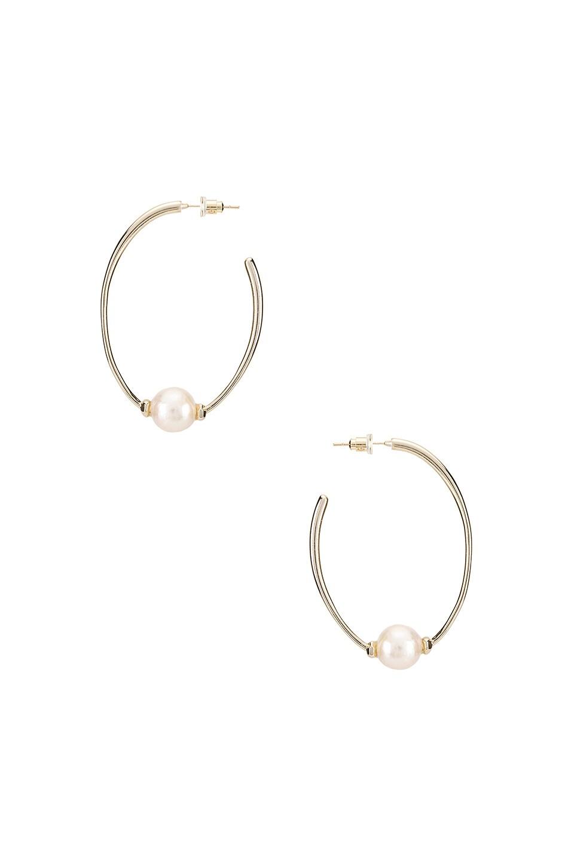 Kendra Scott Regina Earring in Gold Baroque Pearl