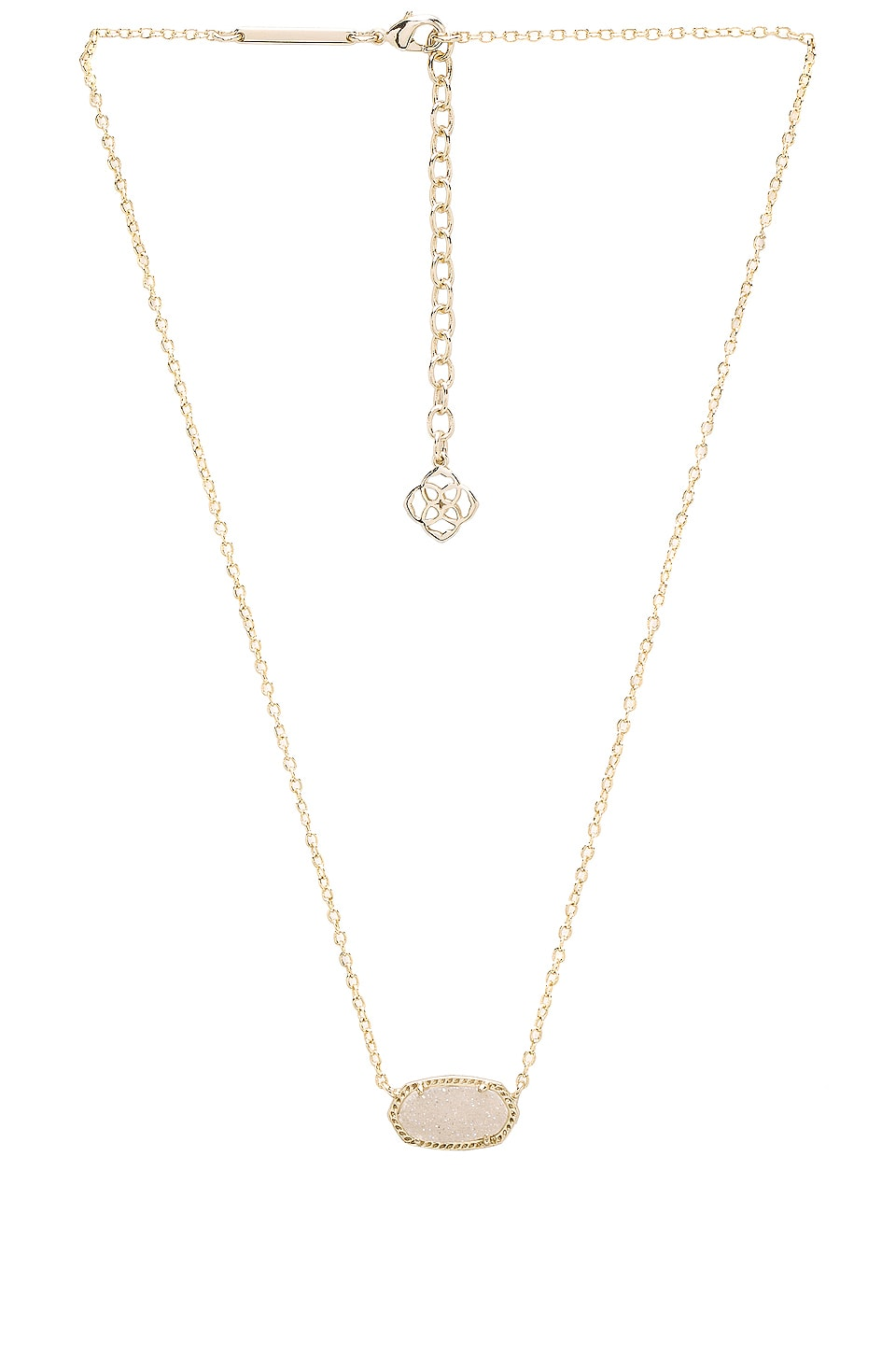 Kendra Scott Elisa Necklace in Gold Iridescent & Drusy