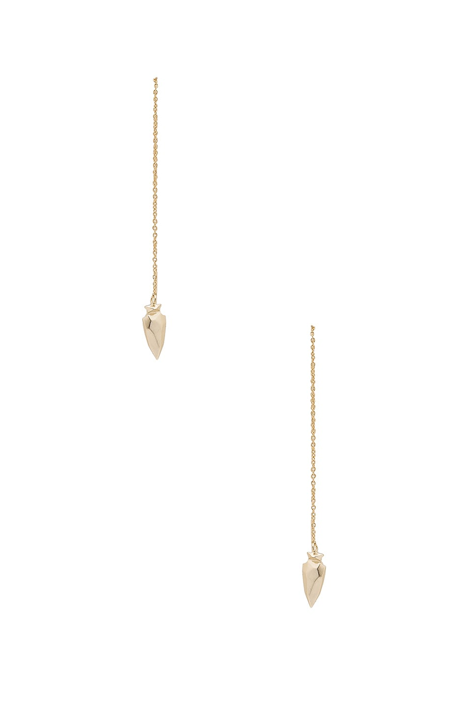 Kendra Scott Kimmel Ear Threader in Gold