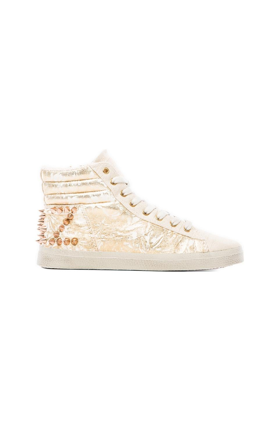 KIM & ZOZI Bling Sneaker in Gold