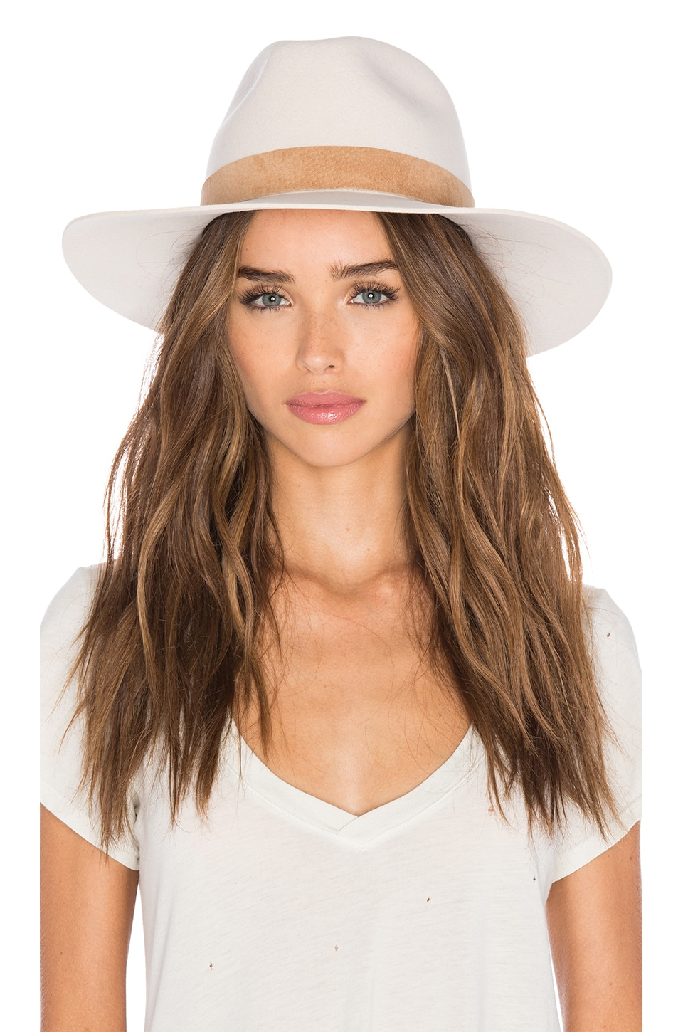 KIN/K Birkin Hat in Cream