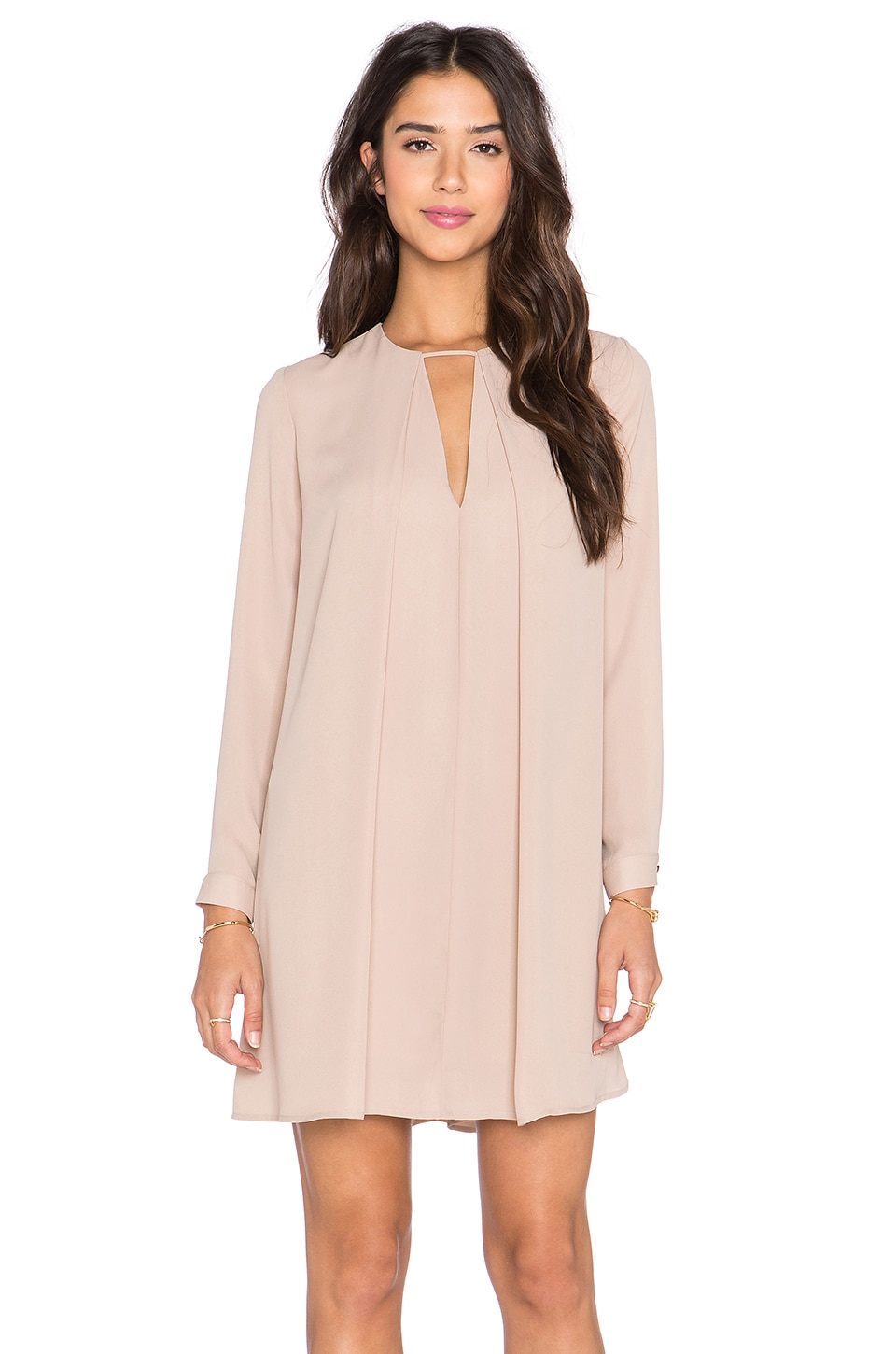 Long Sleeve Swing Dress by krisa