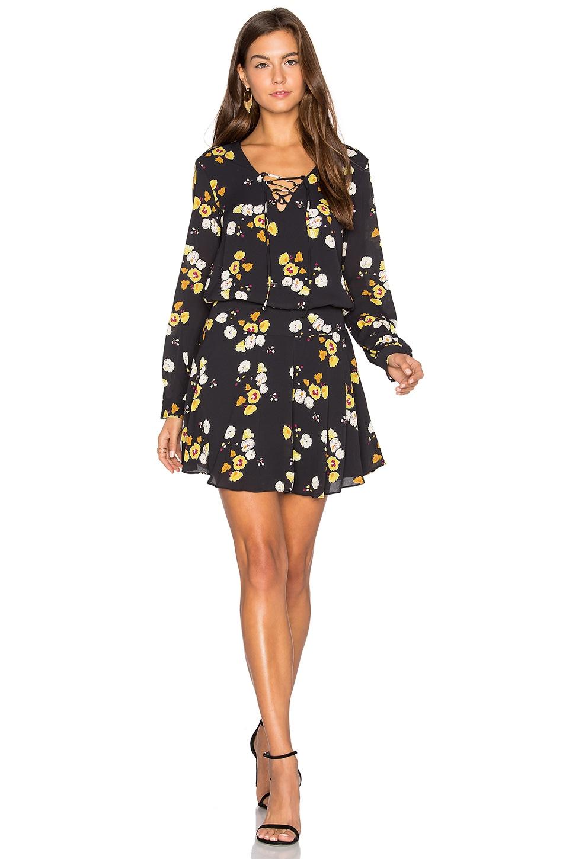 Lace Up Mini Dress by krisa