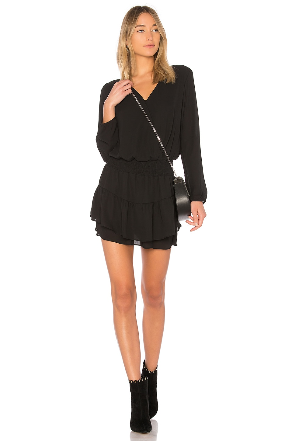 Smocked Surplice Dress             krisa                                                                                                       CA$ 265.88 2