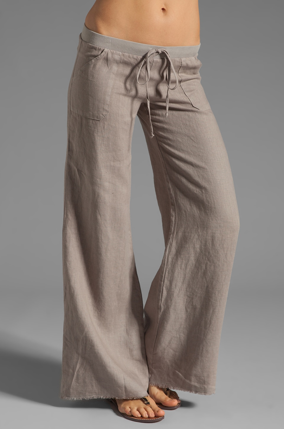 krisa Pocket Pant in Ash