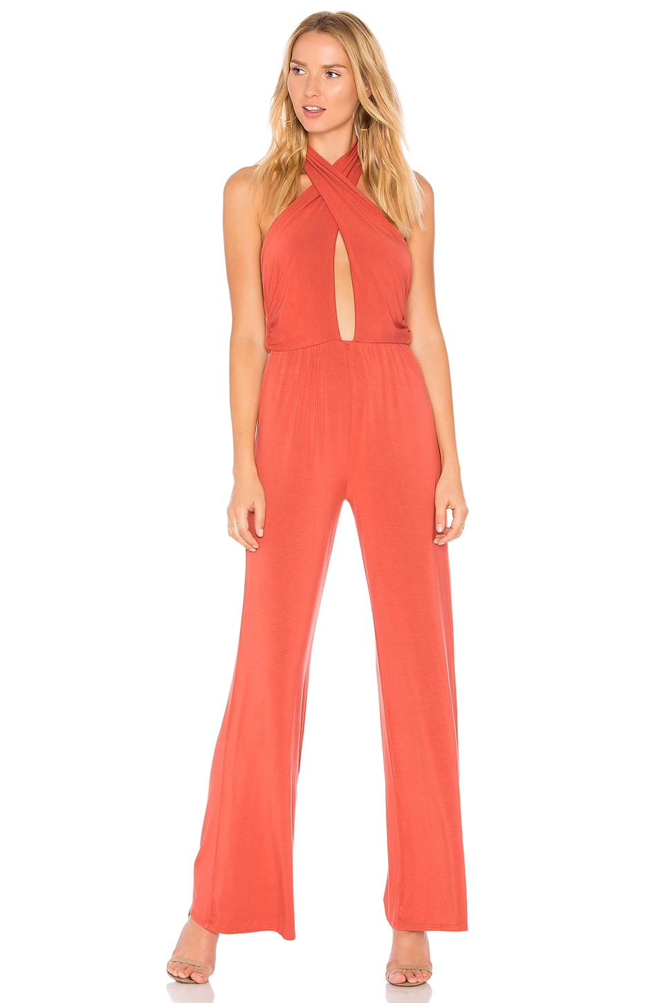 Cross Front Jumpsuit by krisa