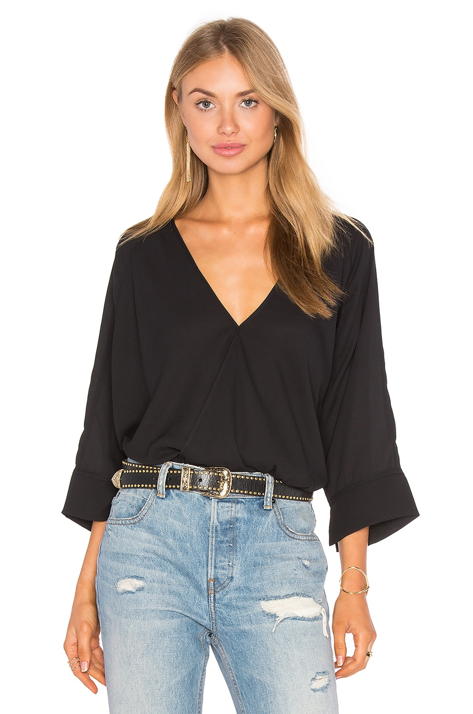 Oversized Surplice Top by krisa