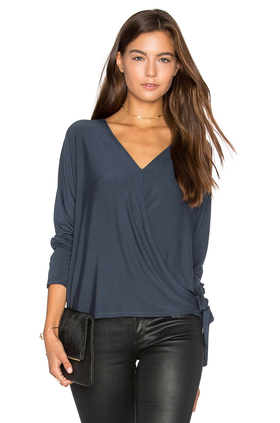 Wrap Surplice Top by krisa