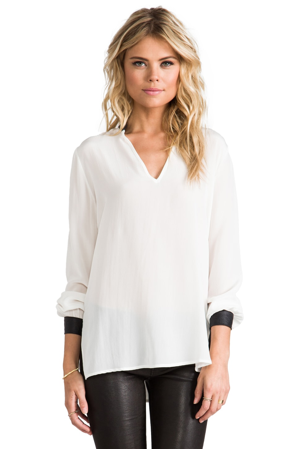 krisa Shirt Tunic in Ivory