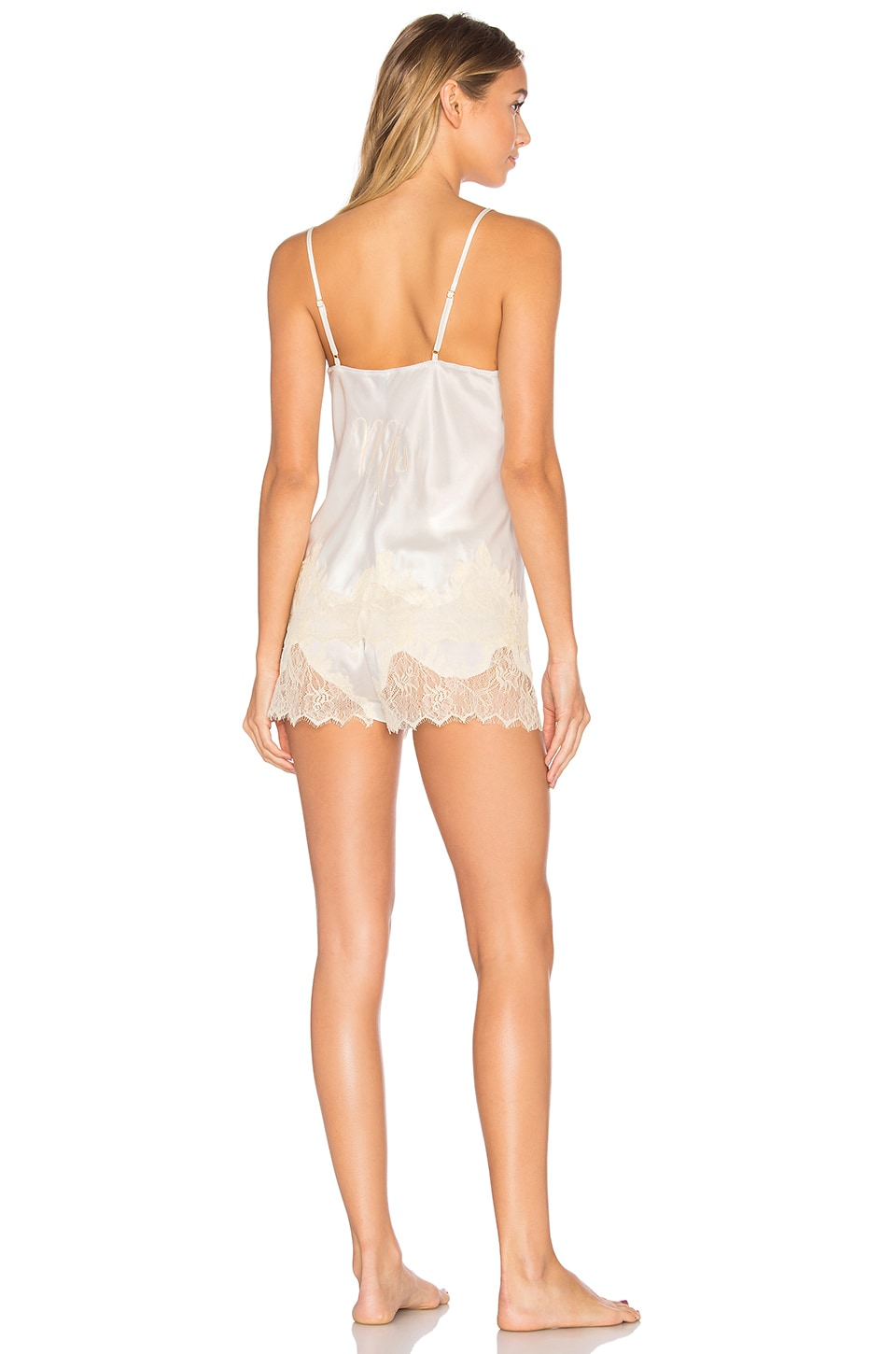 KISSKILL Mrs Short Pajama Set in Ivory