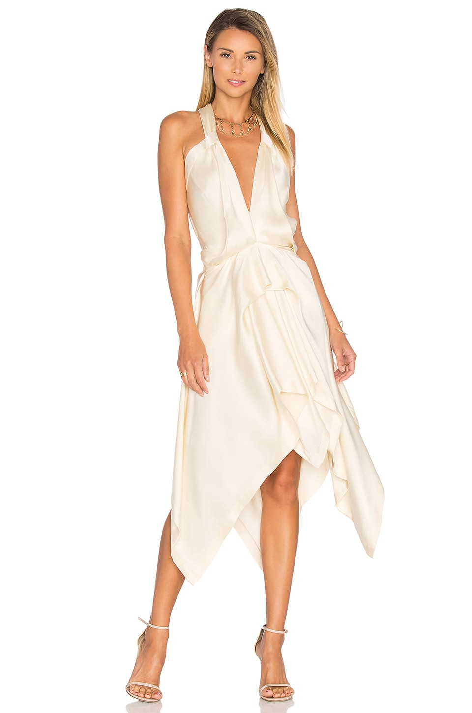 Fluid Drape Dress by KITX