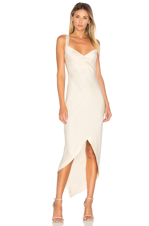 KITX Bias Slip Dress in Cream