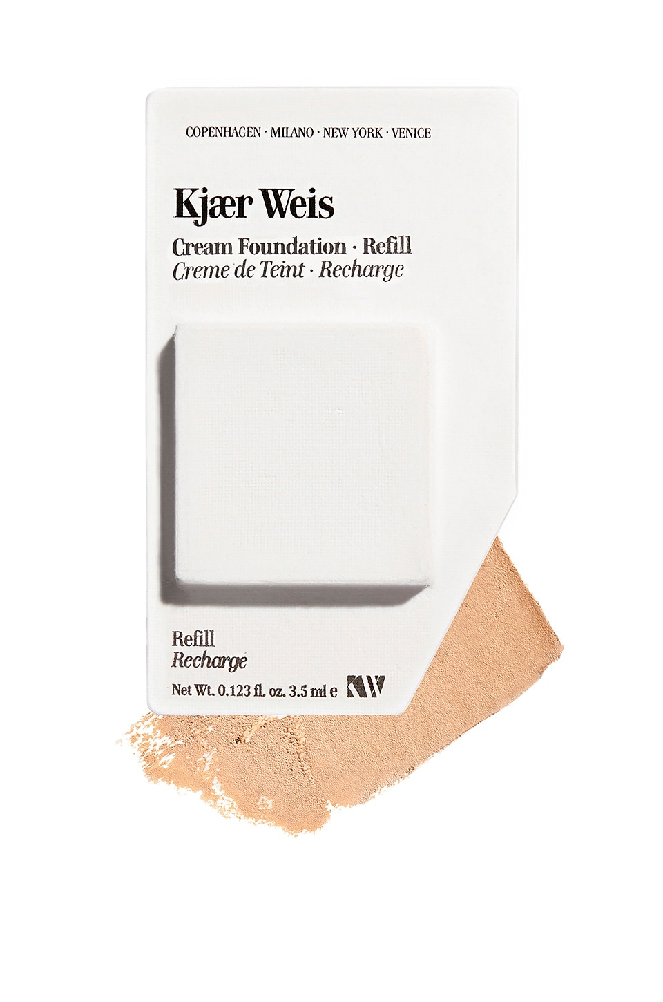 Kjaer Weis Cream Foundation Refill in Ethereal