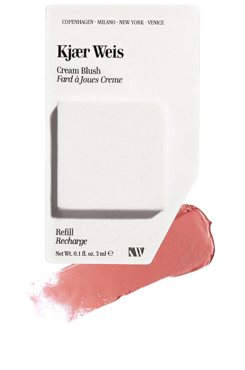 Kjaer Weis Cream Blush Refill in Sun Touched