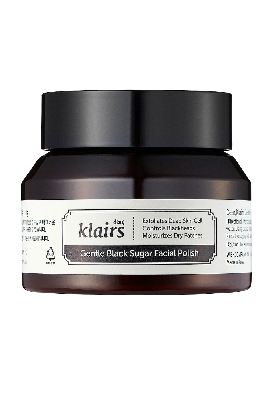 Klairs EXFOLIANT GENTLE BLACK SUGAR FACIAL POLISH