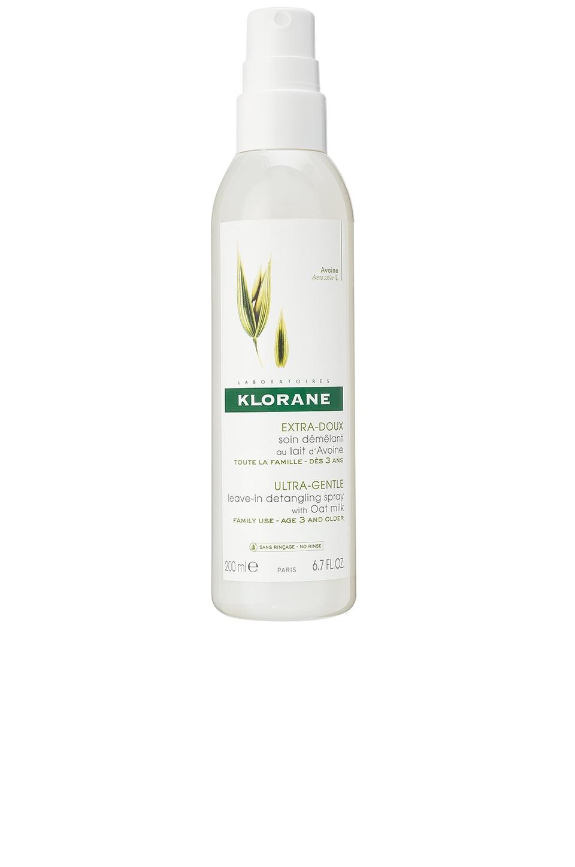 Klorane N/A Leave-In Detangling Spray with Oat Milk