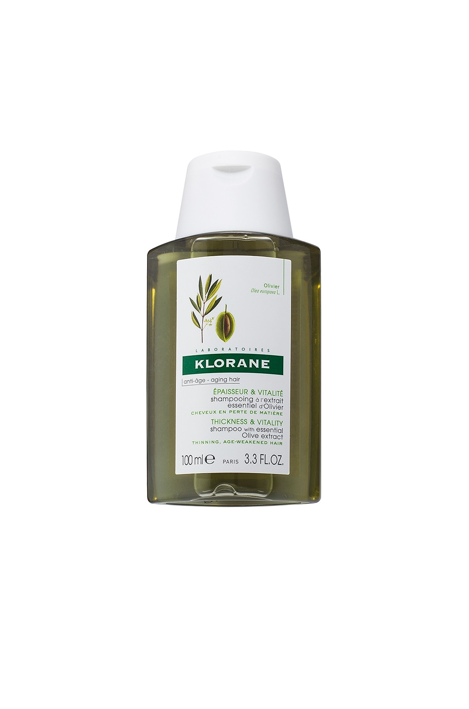 Travel Shampoo with Essential Olive Extract