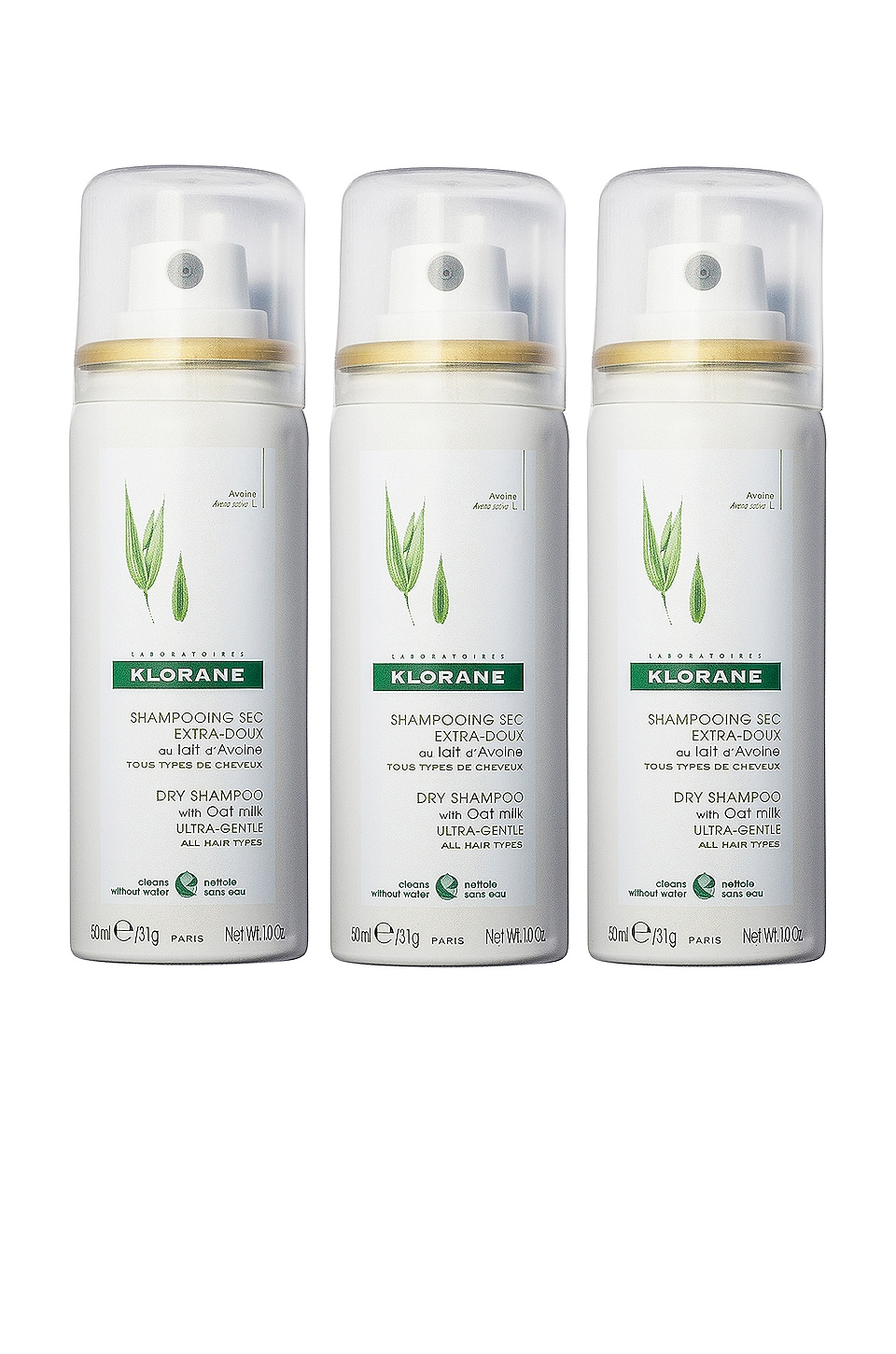Klorane Spray Slay Repeat Dry Shampoo Kit