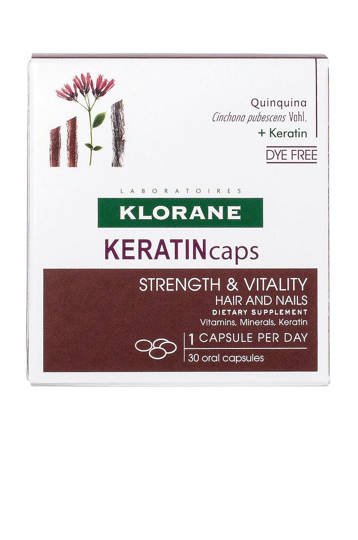 Klorane SUPLEMENTO DIETÉTICO KERATINCAPS STRENGTH & VITALITY