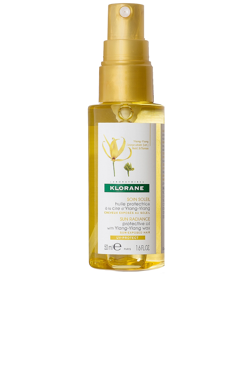 Klorane Travel Protective Oil with Ylang-Ylang
