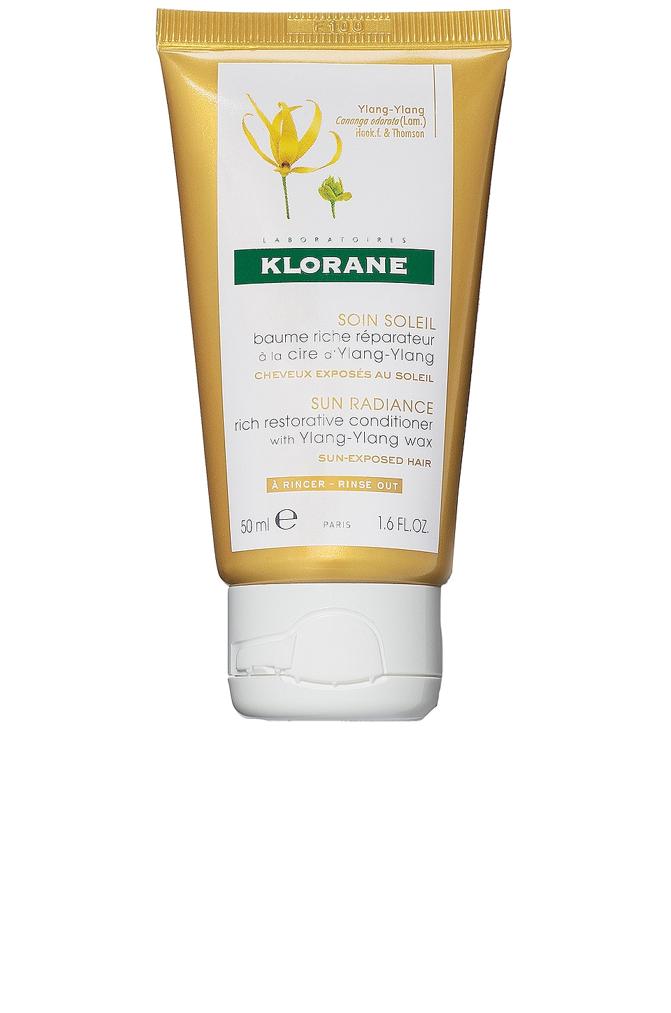 Klorane Travel Restorative Conditioner with Ylang-Ylang