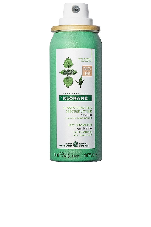 Klorane Travel Dry Shampoo with Nettle in Dark Tint