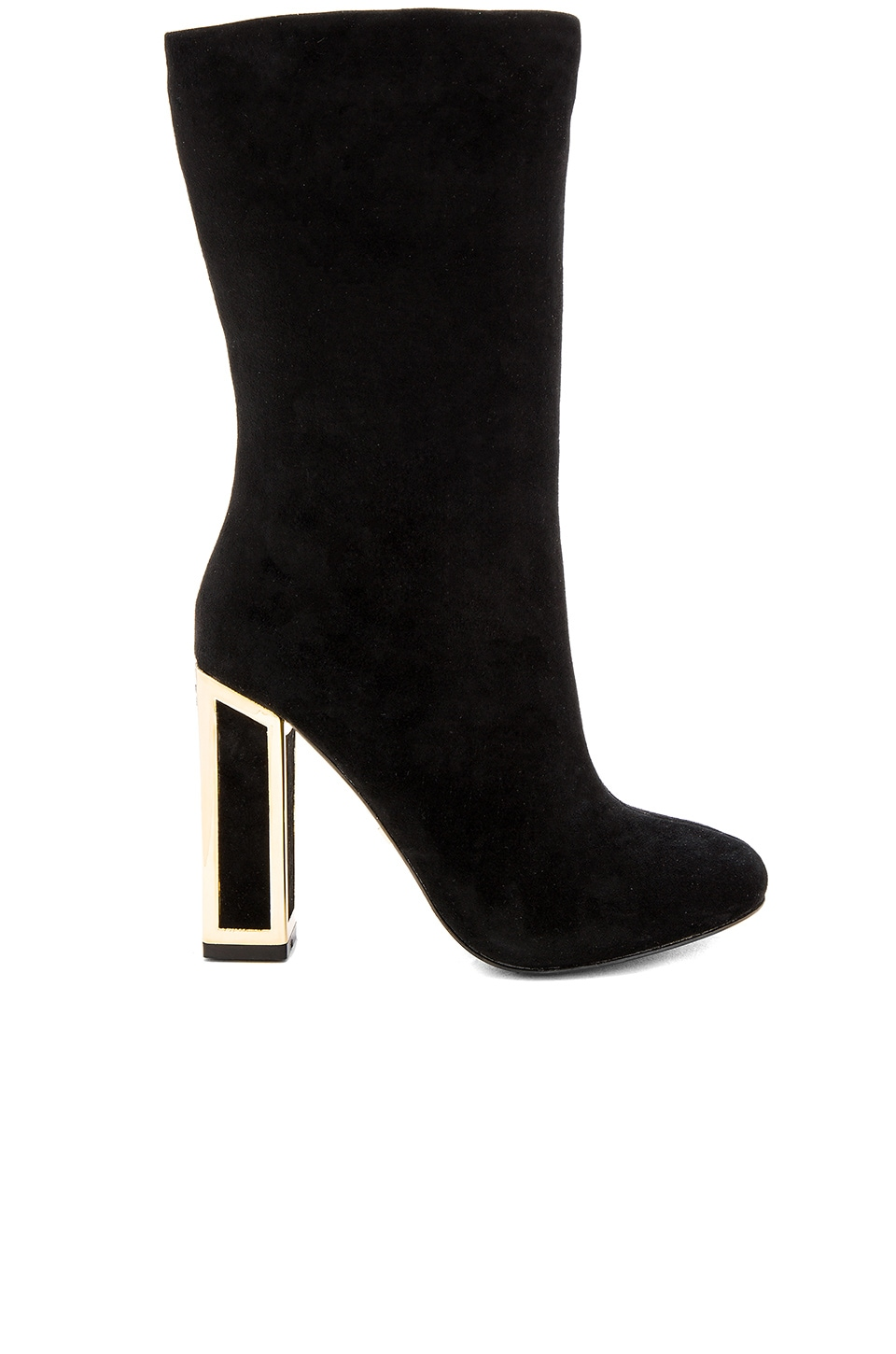 KAT MACONIE Delores Boot in Black Suede