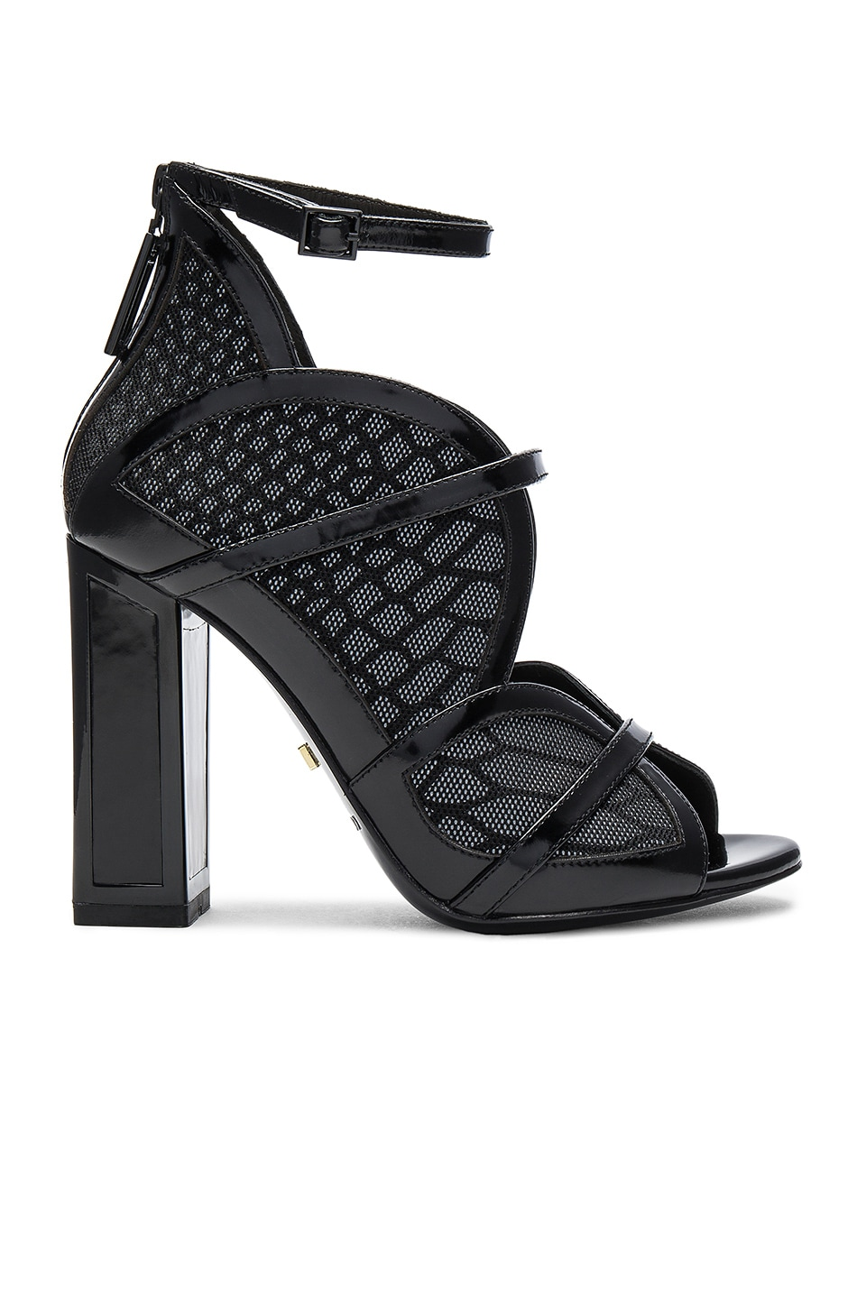 KAT MACONIE Iggy Heel in Snake Reflect
