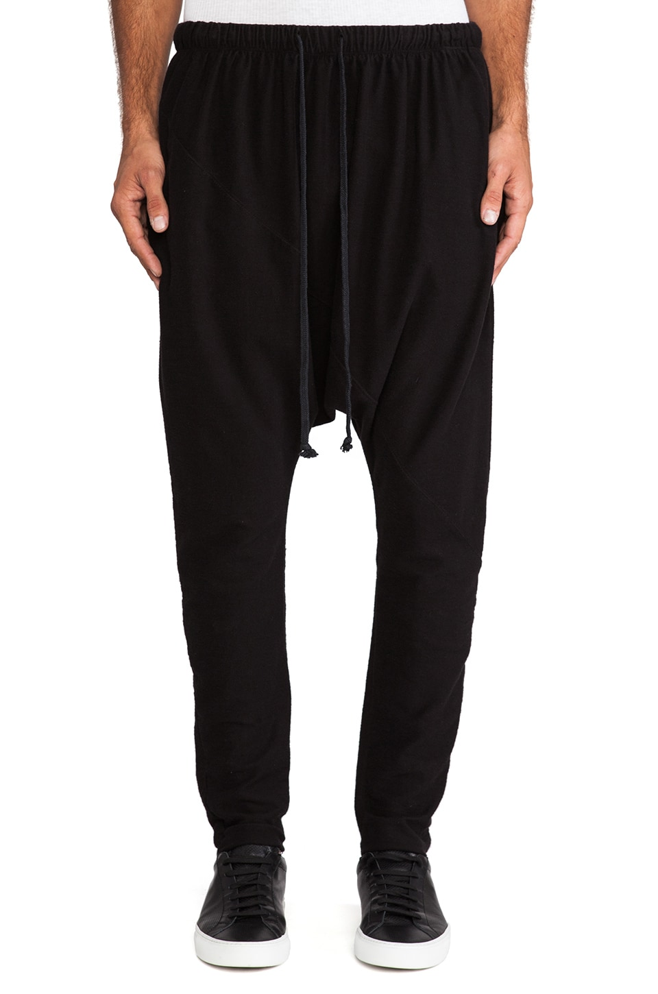 Daniel Patrick Trail Skinny Sweatpant in Black