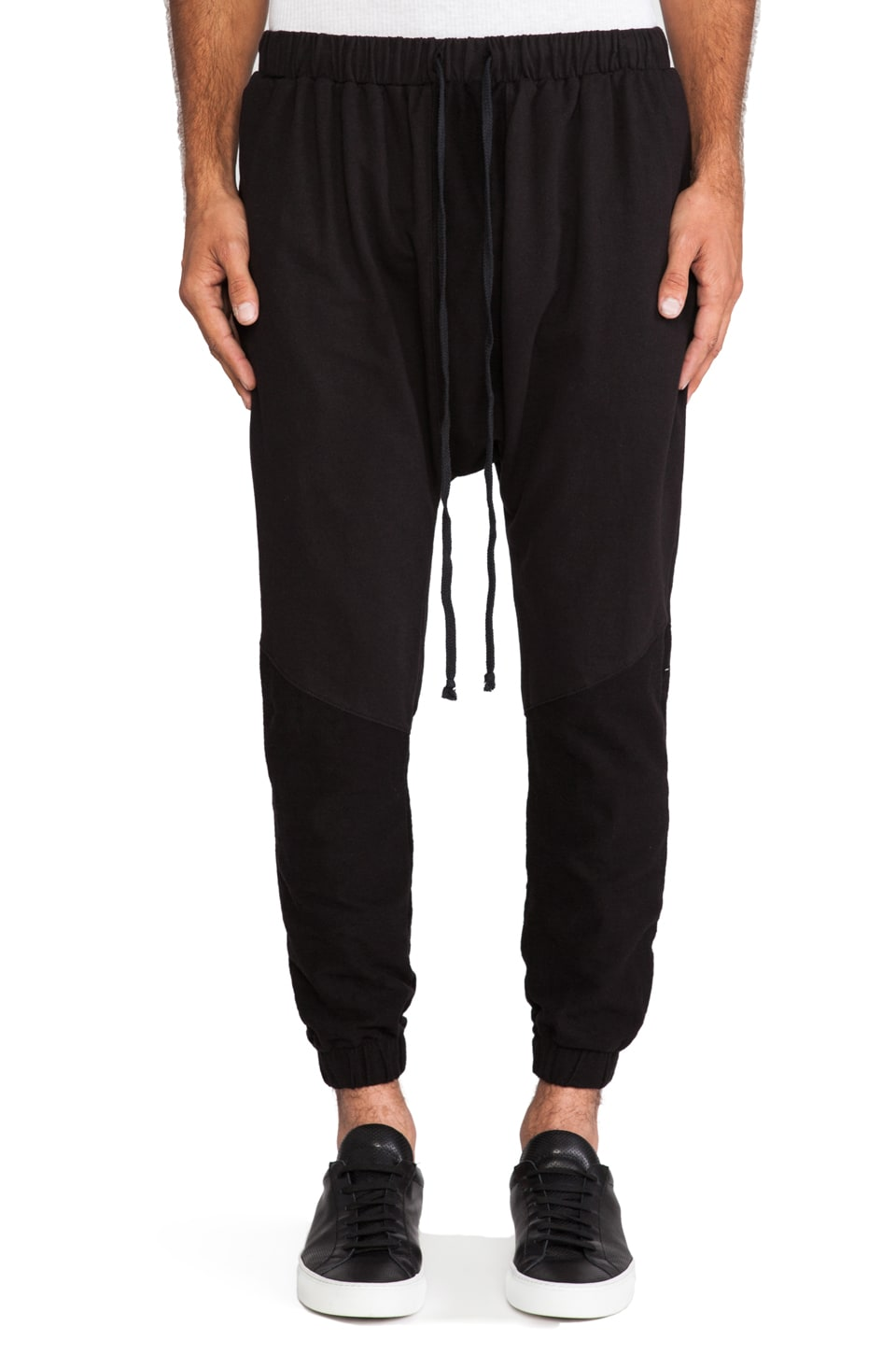 Daniel Patrick Roaming Jogger in Black