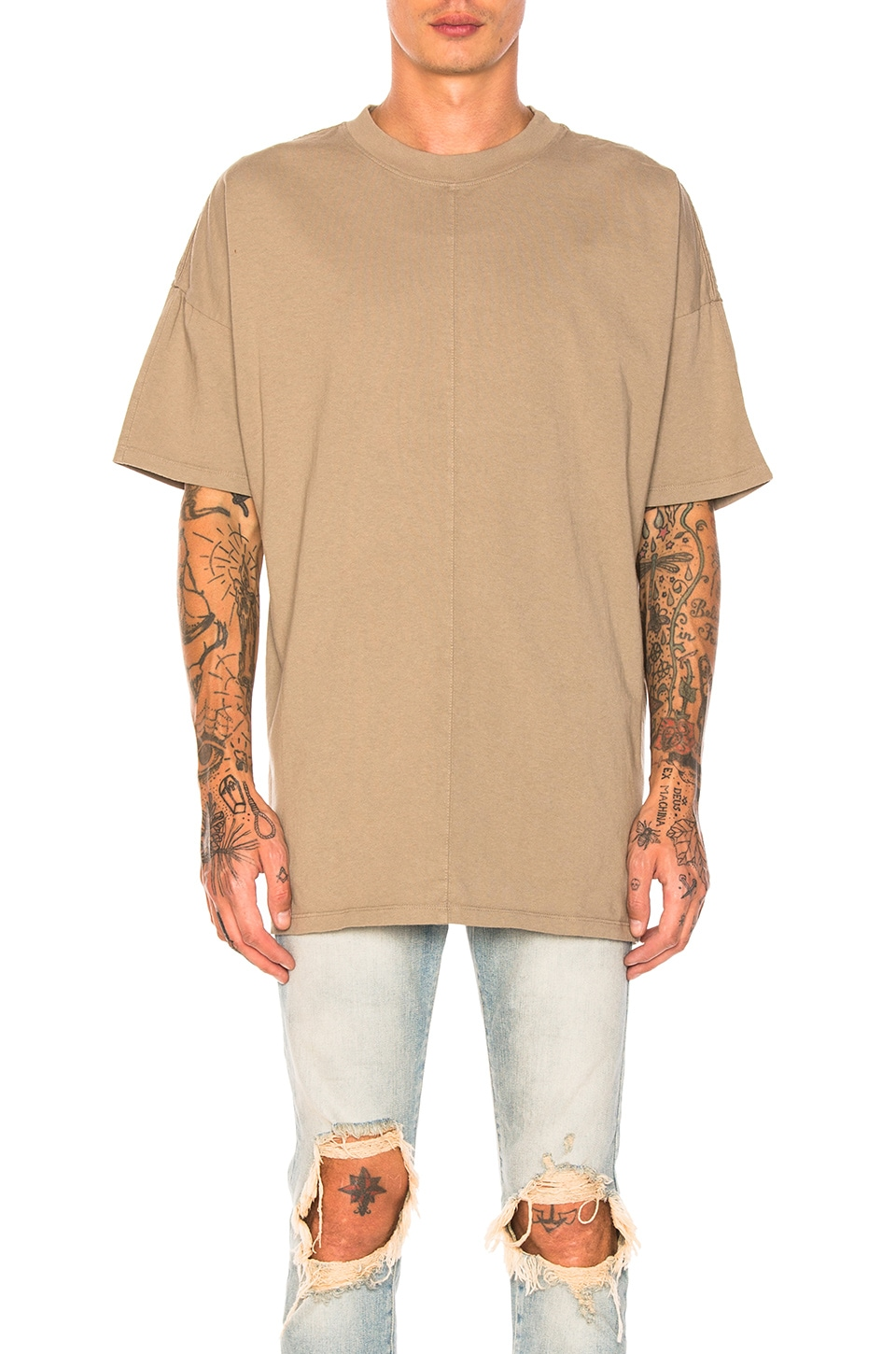 Photo of Oversized Heavy Tee by Daniel Patrick men clothes