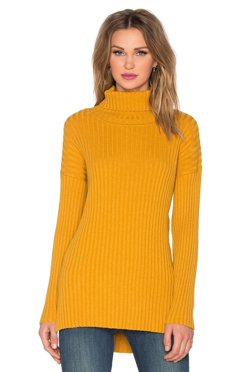 Knot Sisters Lucky Sweater in Mustard