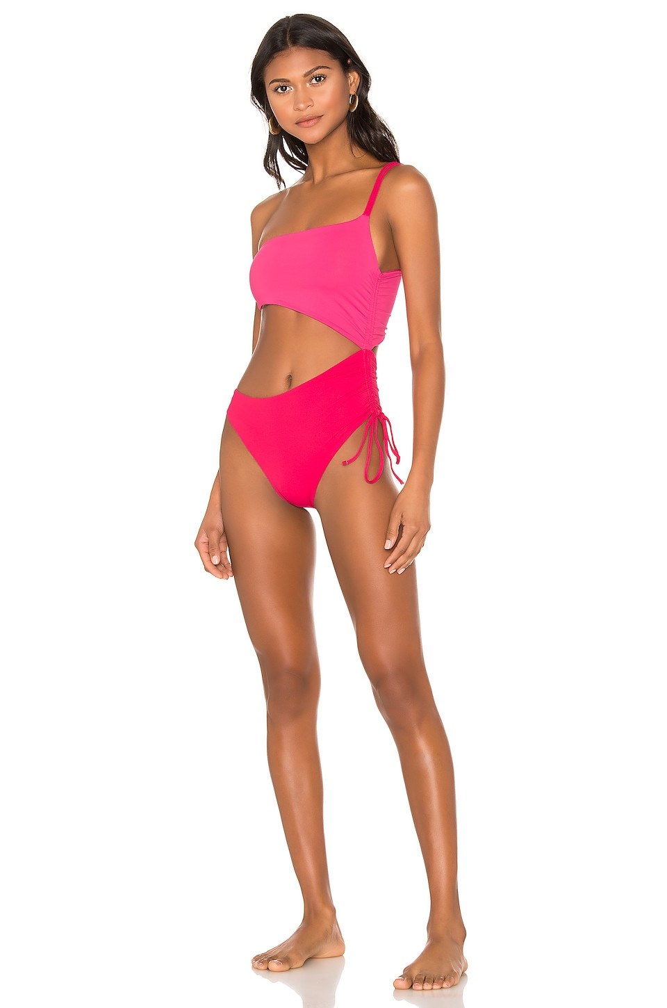 KYA It Girl Reversible One Piece in Rouge & Hot Pink