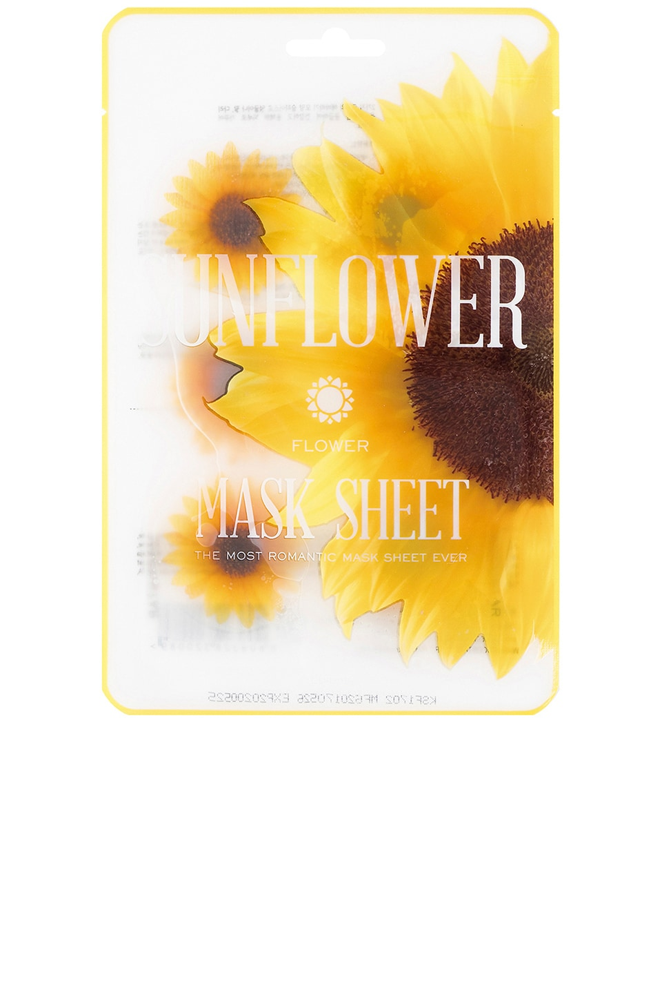 KOCOSTAR MASQUE VISAGE FLOWER MASK SUNFLOWER