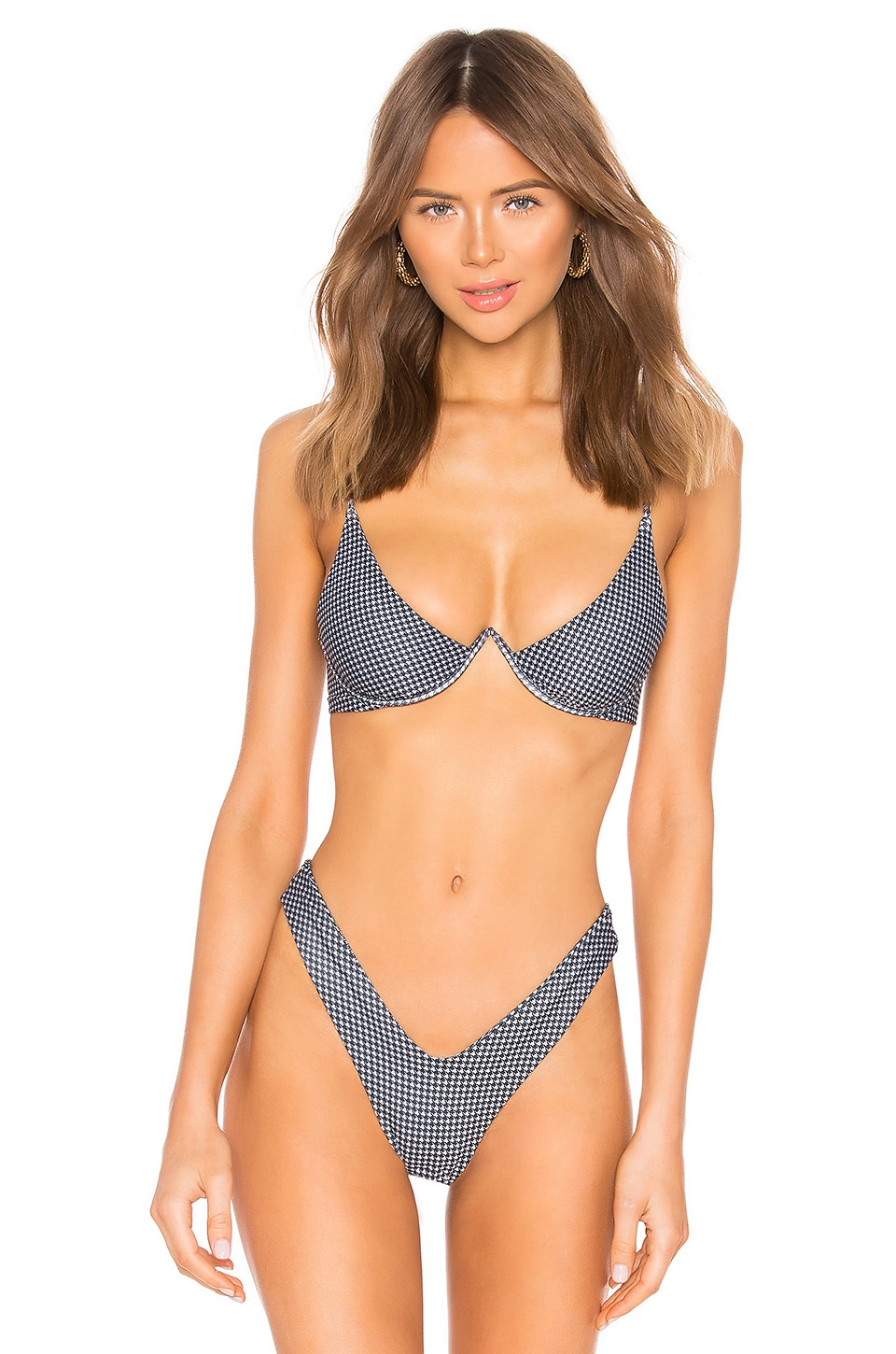 KAOHS Mia Bikini Top in Hounds
