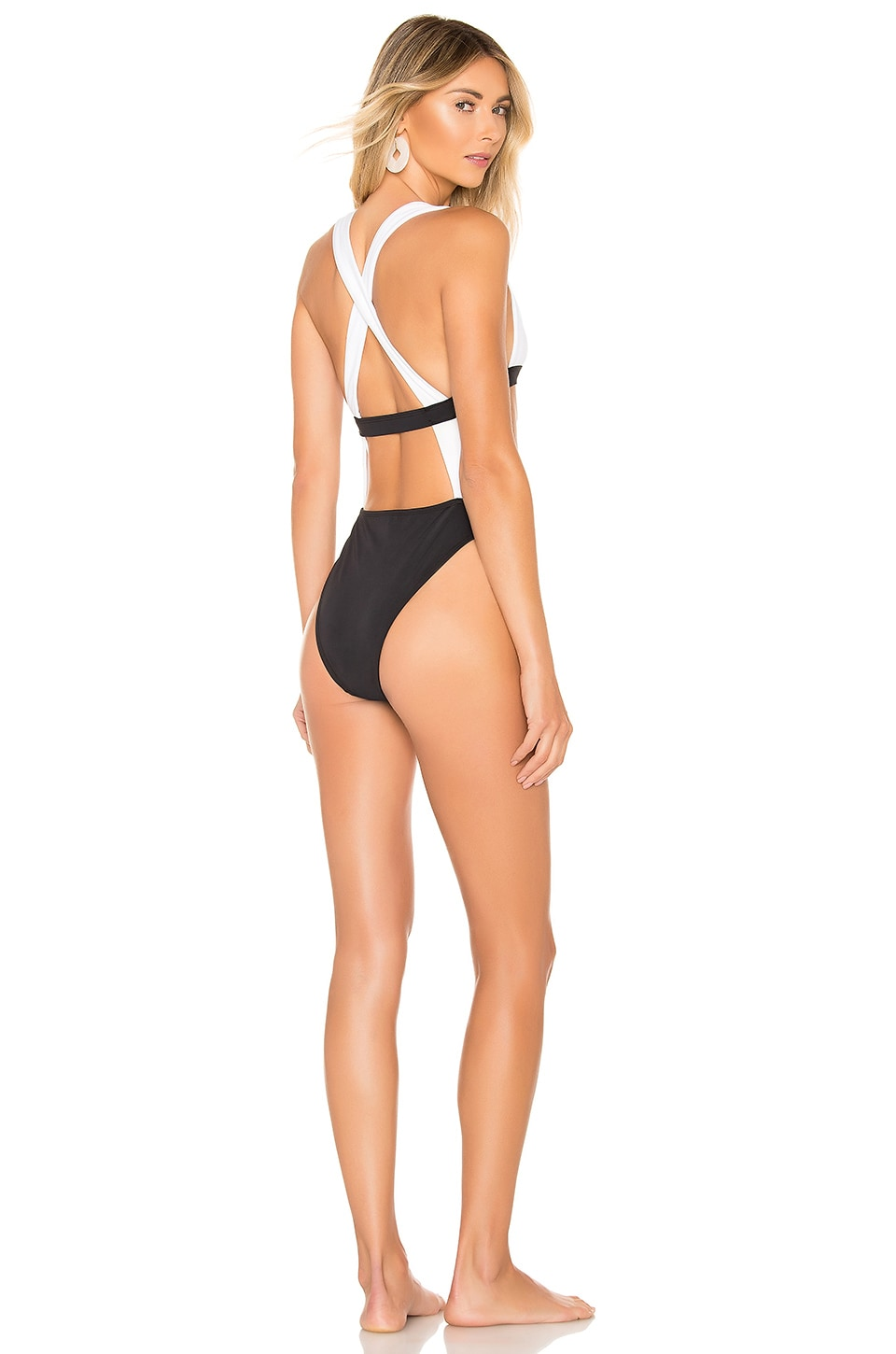 KAOHS Sofia One Piece in Black and White
