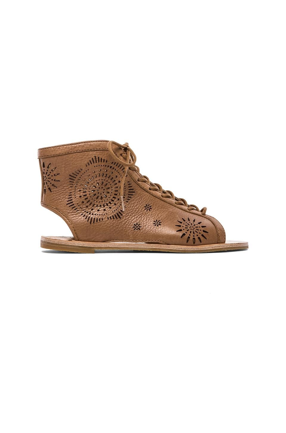 Koolaburra Fion Laser Gladiator in Chestnut