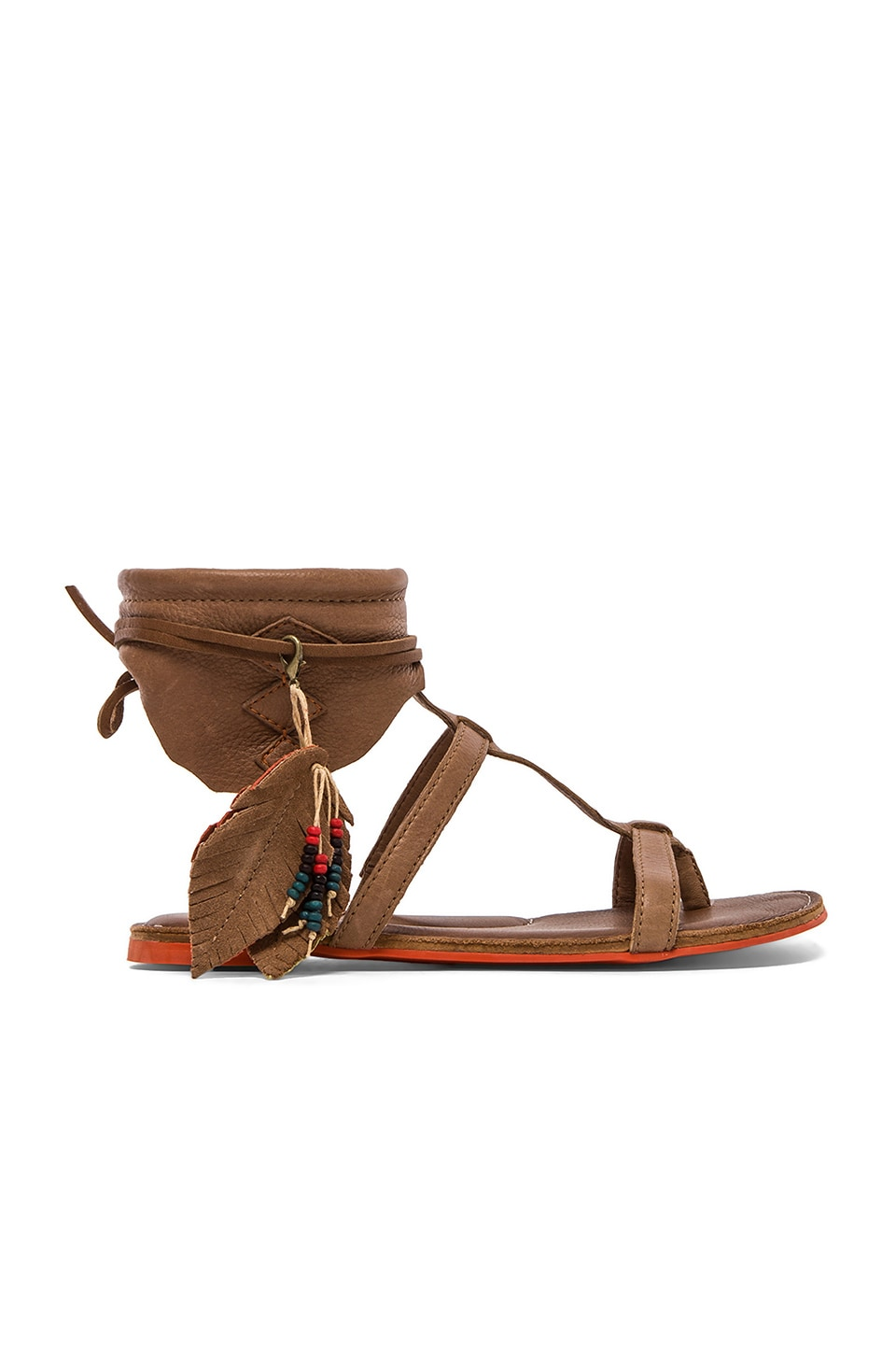 Koolaburra Roquel Gladiator in Chestnut